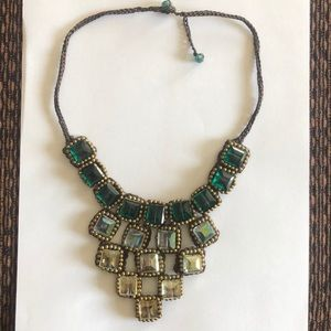 Anthropologie woven necklace